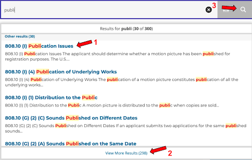 copyright compendium how to use options