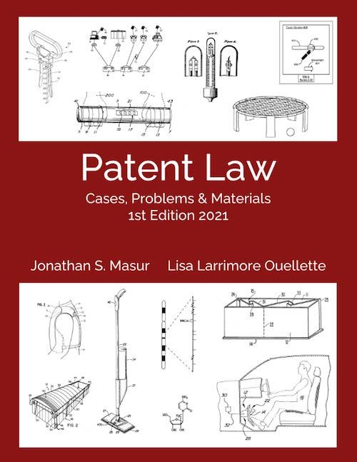 patent law casebook cover open access